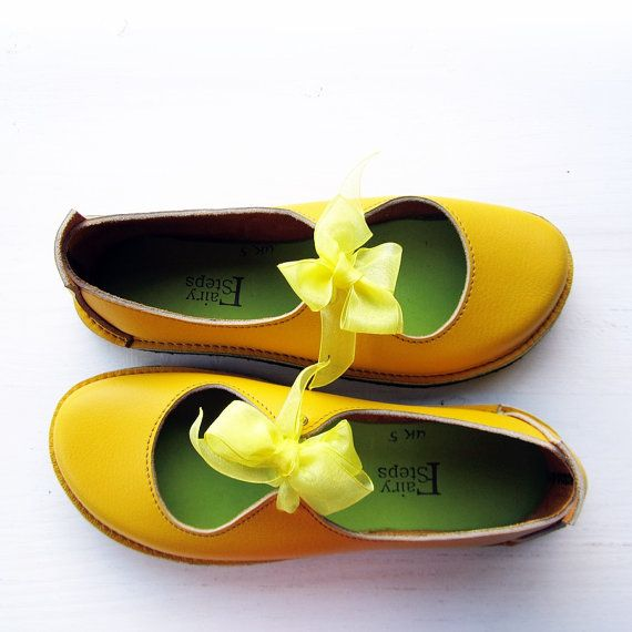 Influenced by Mary Janes and dancing shoes, Luna is the essence of Whimsy!! Ribbon ties to keep them firmly placed for skipping and hopscotching. This