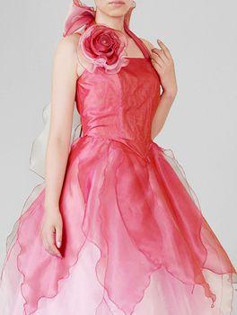 Rakuten: 호 루터 넥 오건디의 드레스[그라데이션](상품 번호: op3558) 연주회 발표회용 드레스[칼라/전3색][사이즈/전4 사이즈:7호・9호・11호・13호]피아노 발표회 스테이지 의상 연주회용 드레스옷통판- 온라인쇼핑은 일본 라쿠텐!