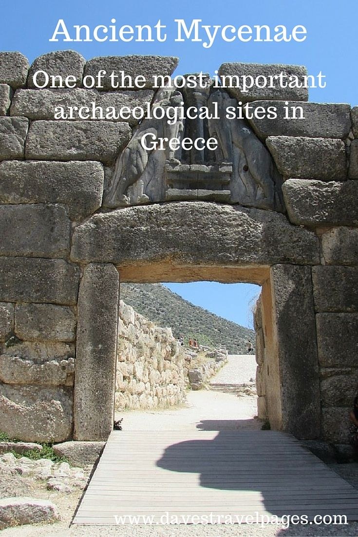Mycenae is one of the most important archaeological sites in Greece.  Once a major centre of ancient Greek civilisation, its history mixes together myth, legend, and fact