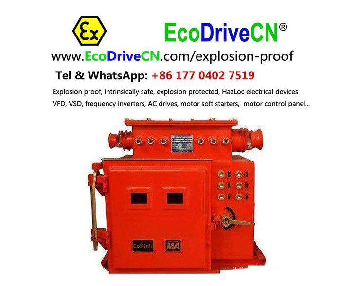 EcoDriveCN® power electronics explosion-proof panel (ac drives, vsd, motor soft starters...), explosion protected pressurized vfd & motor softstarter control panels. http://www.EcoDriveCN.com/explosion-proof/