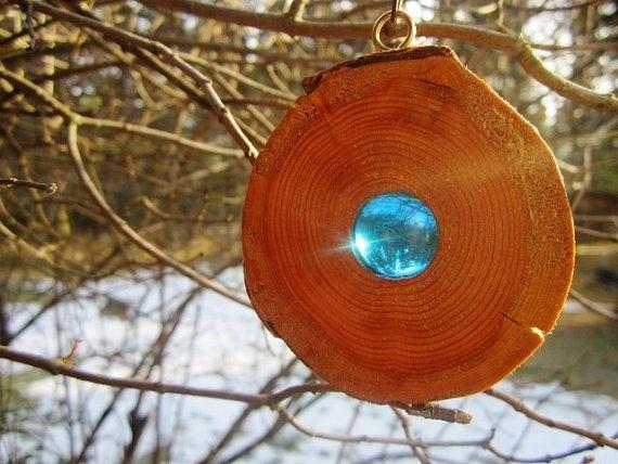 Rustikale Holz hängende Ornamente rustikale von BearlyInMontana                                                                                                                                                      Mehr