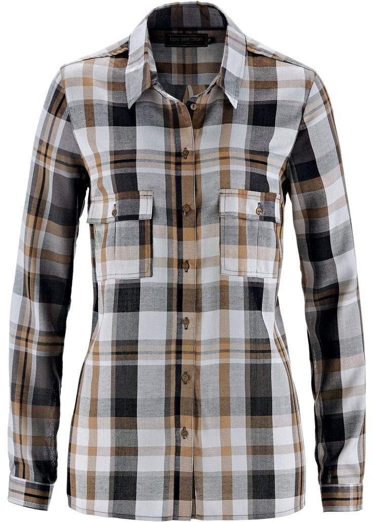 Camicia a quadri Cammello/nero/grigio a quadri - bpc selection è ordinabile nello shop on-line di bonprix.it da ? 19,99. Dalla collezione bpc selection, una ...