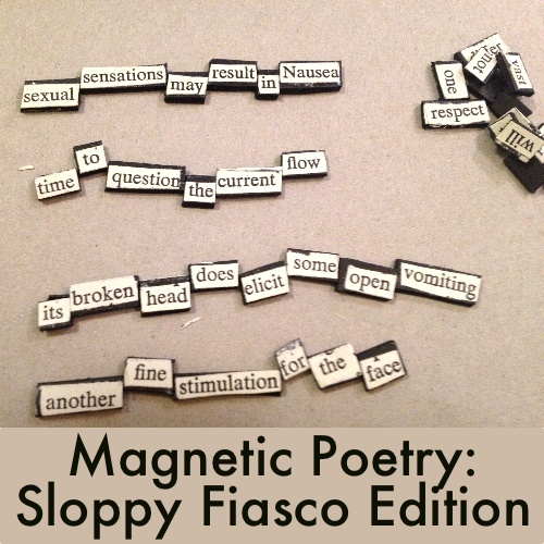 Homemade Magnetic Poetry From Five Diy Gifts For Book Litreactor