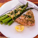 Kickass Oven Baked Tuna Steak Dinner Twenty-five Minutes