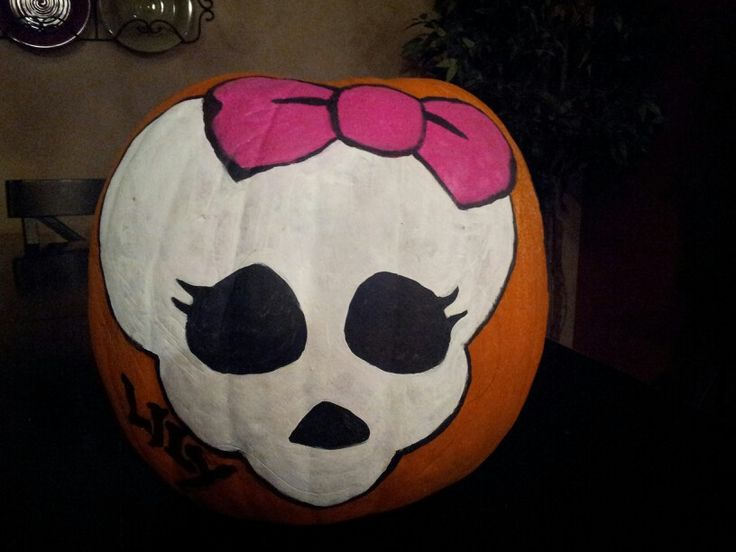 monster high pumpkin halloween paintingpumpkin decoratingholiday