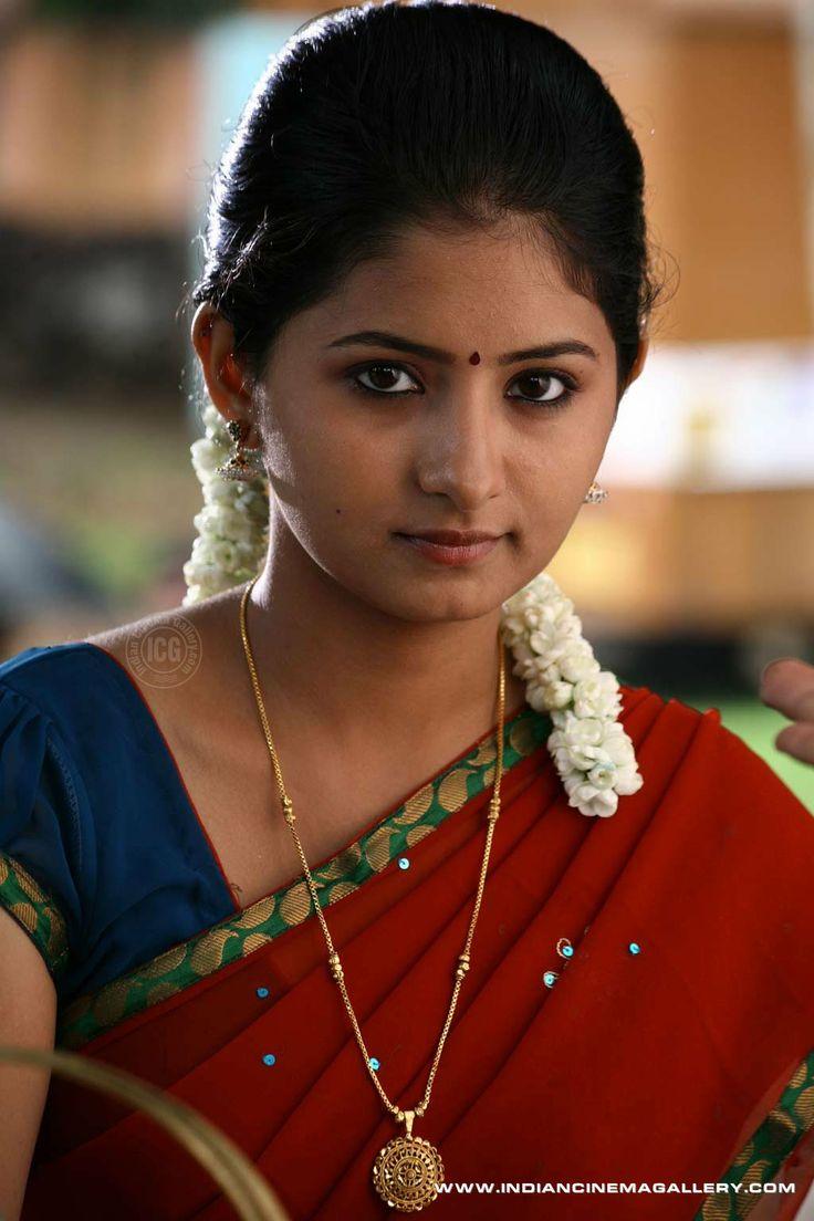 Reshmi Menon in half Saree