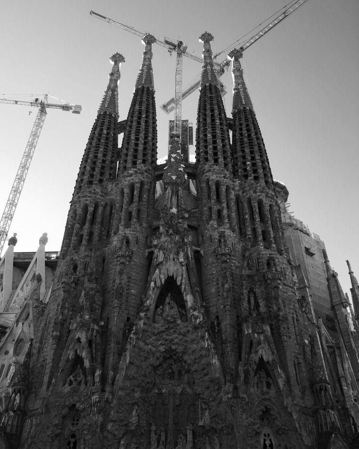 Basílica Sagrada Familia #Barcelona #Gaudí