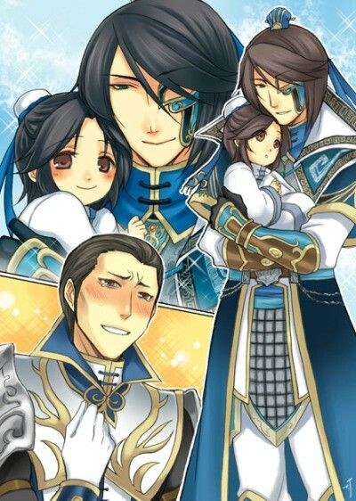 Suma Shi, Suma You, Zhuge Dan, Dynasty Warriors