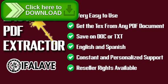 [ThemeForest]Free nulled download Easy PDF Extractor - Get the Text From Any PDF File ! from http://zippyfile.download/f.php?id=42399 Tags: ecommerce, pdf extractor, text from pdf