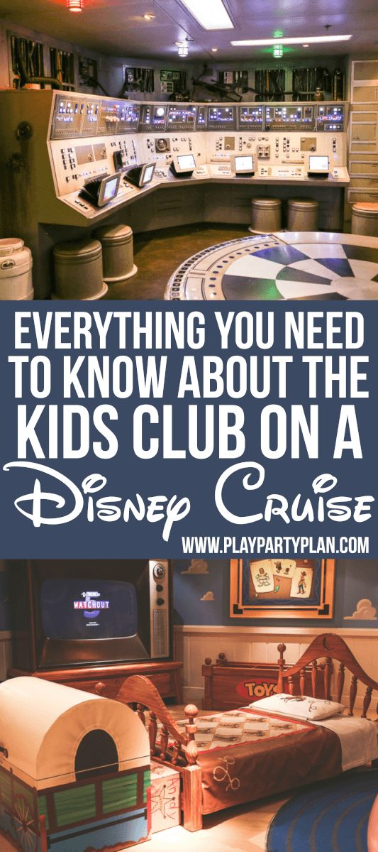 Everything you need to know about the kids club on a Disney Cruise. From the activities to the safety precautions, this post has it all!