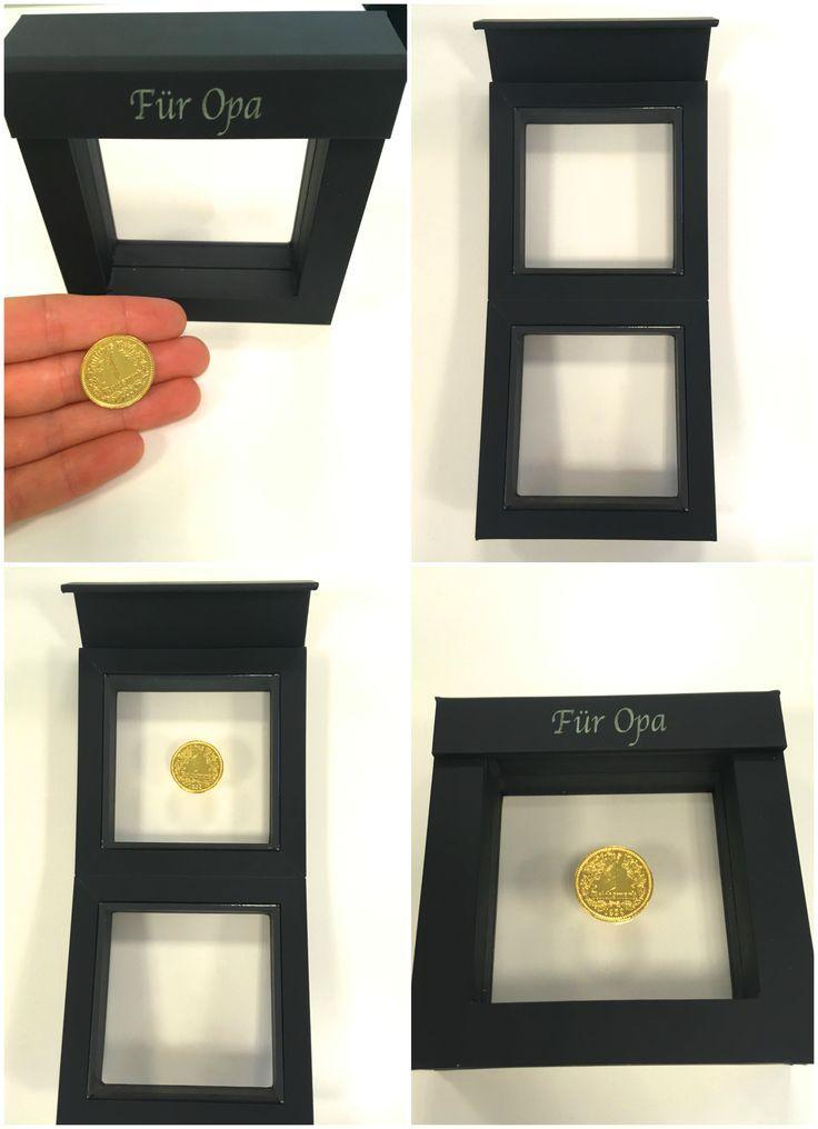 Münze Von Jahrgang Im Personalisierten Schweberahmen Geschenke
