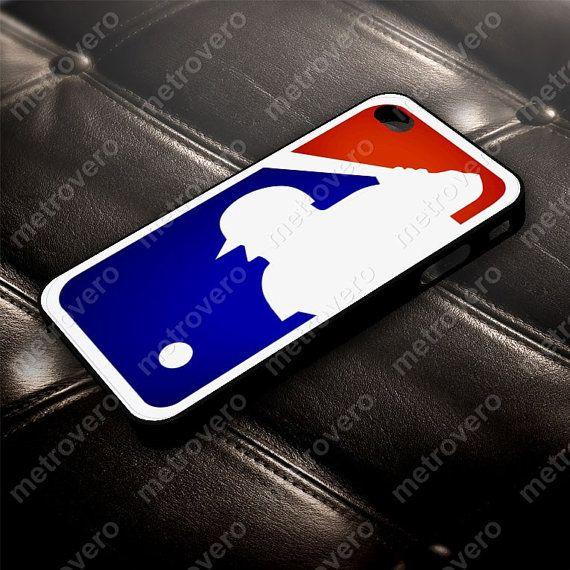 Major League Baseball Logo Case for iPhone 5 5S 4 4S by metrovero, $14.79