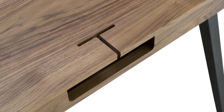 Orson Compact Desk detail