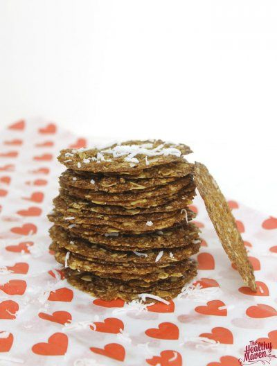 Coconut Oatmeal Lace Cookies - The Healthy Maven - MasterCook