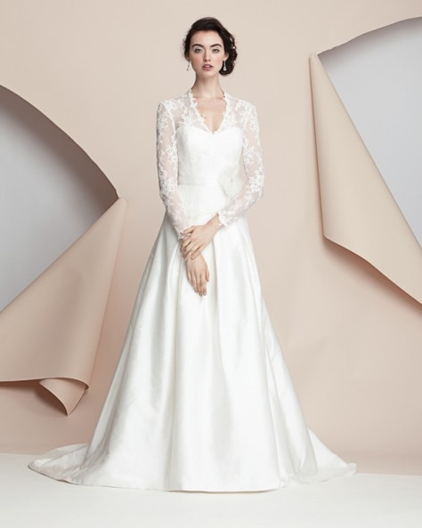 Kate Middleton inspired dress - Alyne Bridal by Rivini