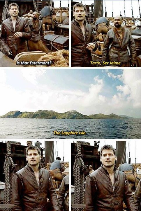 I thought that was a great add, true to Jamie's character | ASOIAF GOT