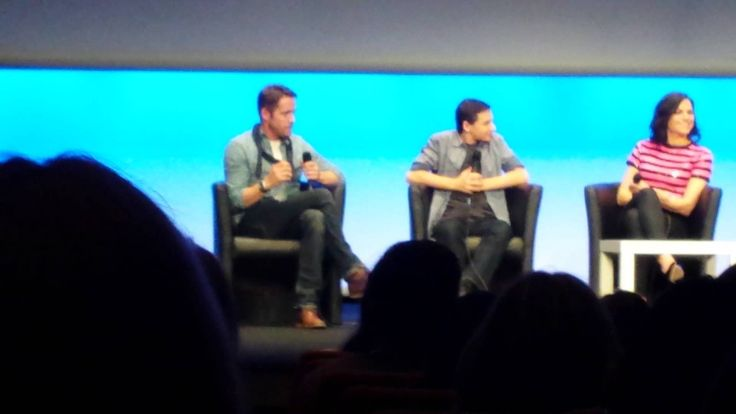 Lana Parrilla, Jared Gilmore and Sean Maguire,  Fairy Tales Xivents convention II Part 6 - June 22, 2014