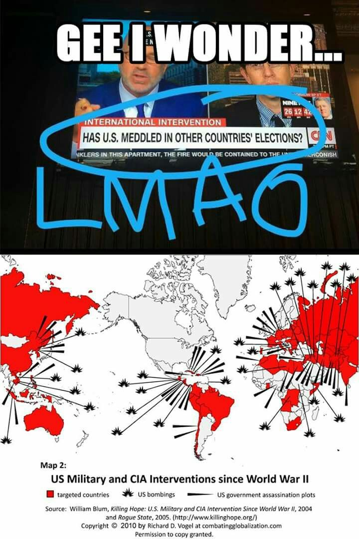 Best ImperialismWar CrimesWar Profiteers Images On Pinterest - Map of countries the us has meddled with