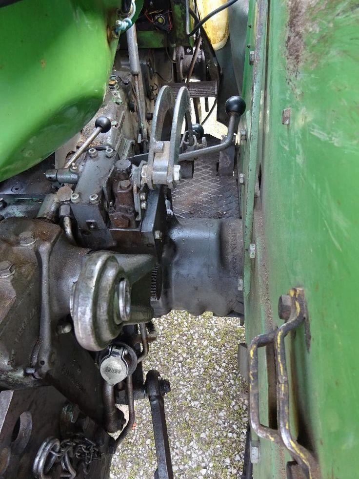 Traktor Fendt Famer 2 Typ FW 139 aus 1. Hand zu verkaufen. - Baujahr 1966 - hat noch TÜV bis August...,Traktor Fendt Farmer 2 FW 139 (Schnellläufer) mit Peko-Verdeck in Bayern - Möttingen