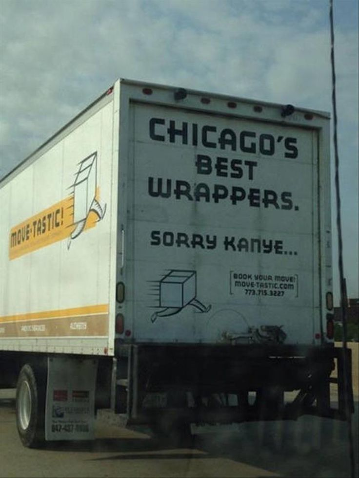 ☻☻☻ FUNNY SIGNS ☻☻☻ ~   Truck Drives With A Sense Of Humor