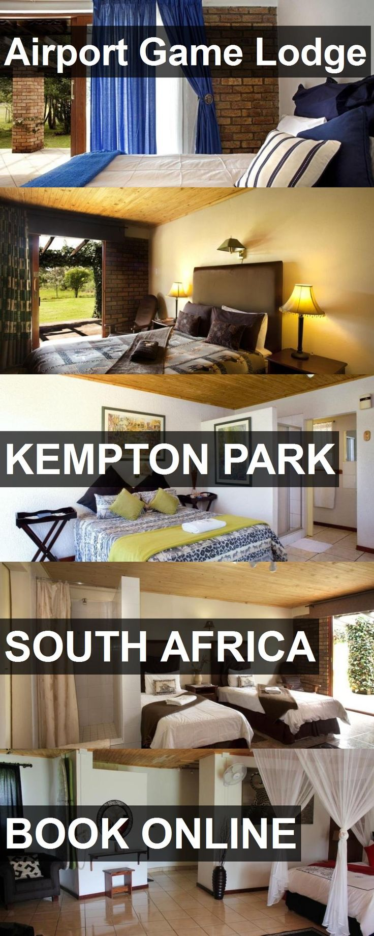 Hotel Airport Game Lodge in Kempton Park, South Africa. For more information, photos, reviews and best prices please follow the link. #SouthAfrica #KemptonPark #AirportGameLodge #hotel #travel #vacation