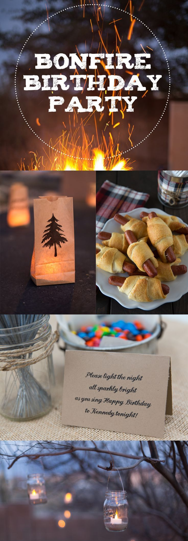 Bonfire Birthday Party Ideas for Food, Decorations and Fun – #birthday #bonfire …