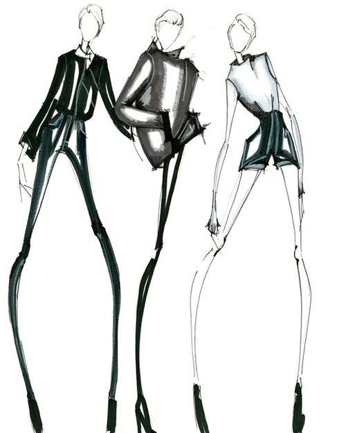 Current Mind Set: Can wait to jump in piles of fall leaves. Then drink hot apple cider. Fashion Illustration and design by Alessandra De Gregorio #alessandradegregorio  #fashionIllustration #illustration