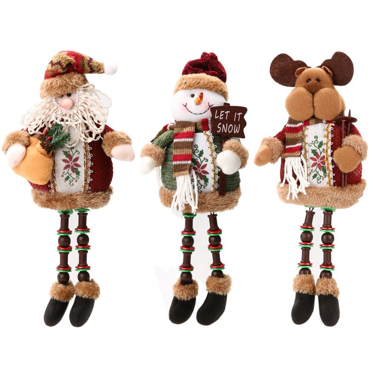 Hot Promotion ! ! Hot Sale Santa Claus Snow Man Reindeer Doll Christmas Decoration Xmas Tree Hanging Ornaments Pendant Best Gift #>=#>=#>=#>=#> Click on the pin to check out discount price, color, size, shipping, etc. Save and like it!