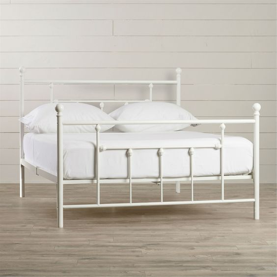 25 best ideas about cheap metal bed frames on pinterest for Cheap platform bed frame