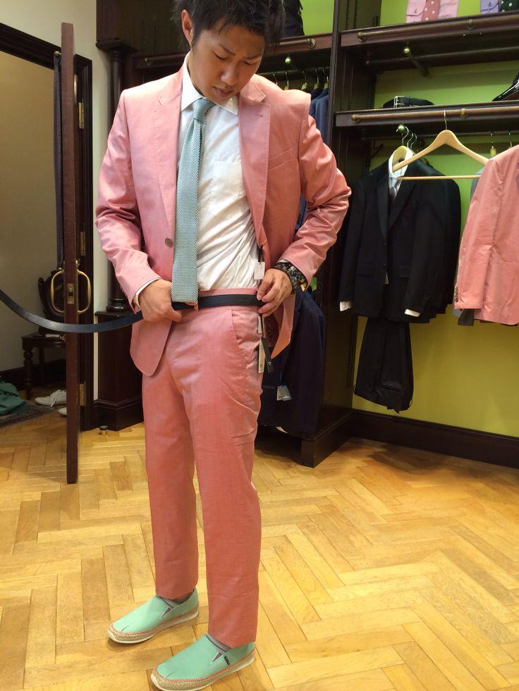 スーツ決定