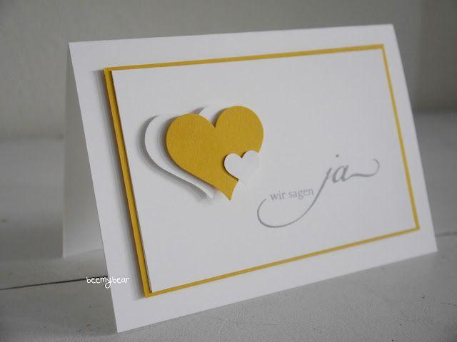 Heute Zeige Ich Euch Noch Die Einladungskarten Zu Den Save The Date Karten  . *** *** *** Kreative Grüße Nächs.