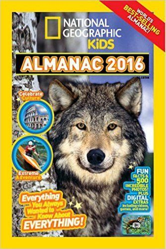 This New York Times bestseller is packed with incredible photos, tons of fun facts, crafts, activities, and fascinating articles about animals, science, nature, technology, and more. New features incl