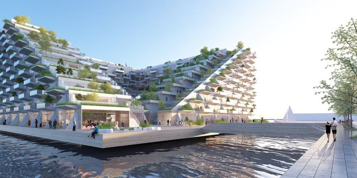 Gallery of BIG and BARCODE Win Competition for the Sluishuis Housing Development in Amsterdam - 4