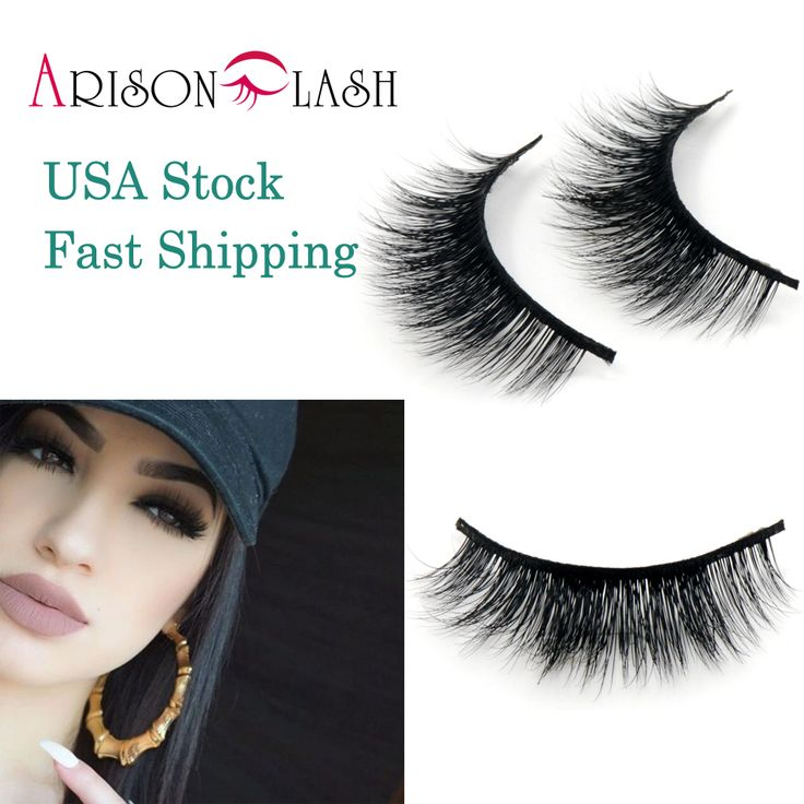 Arison Lashes 3D Mink eyelashes band lashes 100% Real Siberian Mink False Eyelashes stock Cheap eyelashes  birthday gift #Affiliate