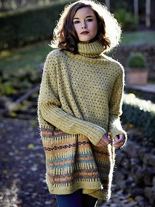 Franziska from Rowan Knitting and Crochet Magazine No. 56 (ZM56) features handknitting and crochet designs. 3 Stories are featured: WILDERNESS - CRAFTWORK and ESSENTIALS ... | English Yarns