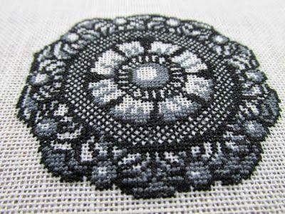 borduurwerk patroon Zeeuwse knoop
