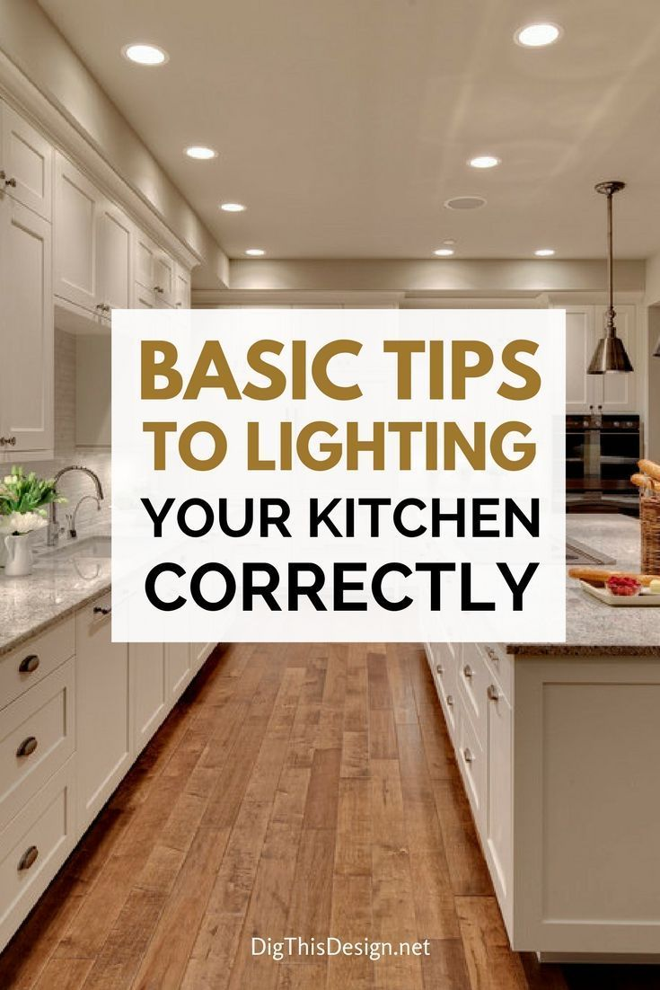basic tips to lighting your kitchen correctly share home diy ideas rh pinterest com