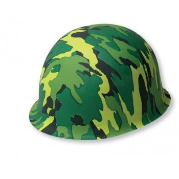 Army Camouflage Helmet : The Party Cupboard : Online Party Supplies Store Australia | The Party Cupboard