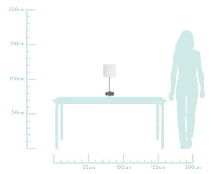 Bestellen Sie die Tischleuchte SYDNEY aus Metall mit weißem Textil-Lampenschirm. Ausgesuchte Leuchten erhältlich auf WestwingNow. Tischleuchte SYDNEY - Metall/Textil WestwingNow