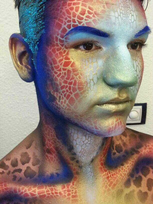 Graftobian bodypainting makeup-wow.