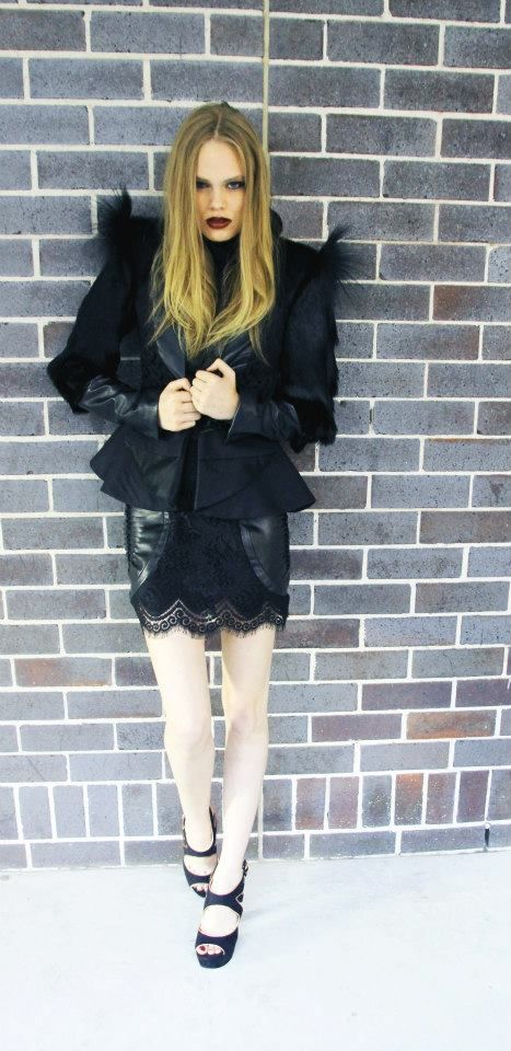 Surasit Liphan # Jacket and lace leather