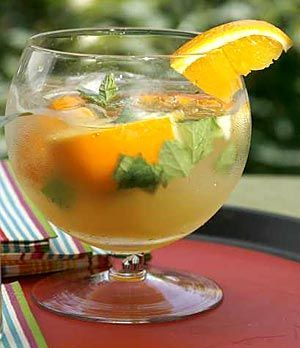 Cachaca cocktail (you can substitute rum)