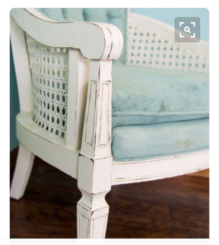 vintage cane back chair makeover debbiedoos