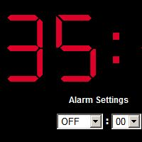 Online Alarm Clock. Give this website some support please! It is great!