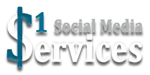 Buy $1 Social Media Services #SMM #SocialMedia
