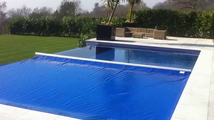 Swiming Pools Blue Pool Cover With Storage Cube Also Above Ground Liners And Swimming Pool Cover Besides Underwater LED Light  Wooden Outdoor Table  Oval Floating Light  In Ground Liners  Pool Paint  Wooden Patio Chair   Swimming Pool Covers Types
