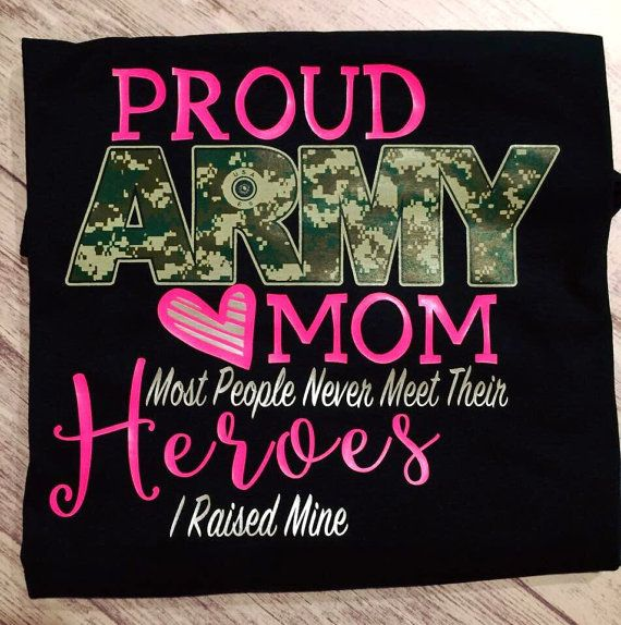 Army mom Proud Army mom t-shirt army mom shirt by PurpleElephantCo