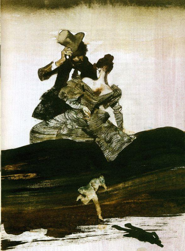 Ferenc Pintér - 2000, A. Von Chamisso, L'uomo senza ombra