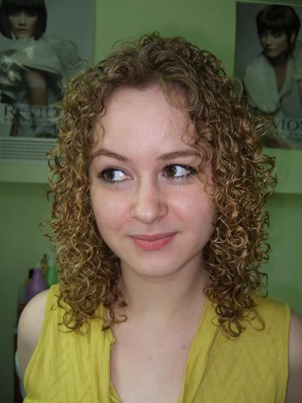 shoulder length tight perm | 136 best images about perms on Pinterest | Home perm, Curls and Loose curl perm