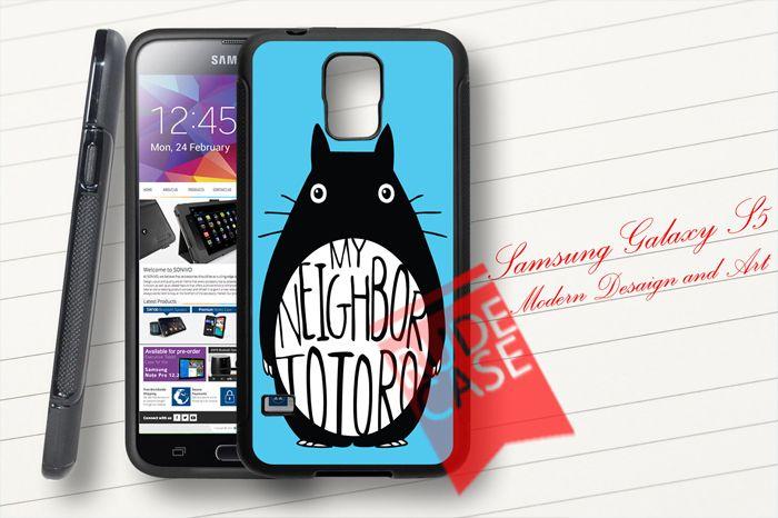 Samsung Galaxy S5 Custom My Neighbor Totoro Rubber Case